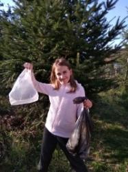 Verunka zachraňuje les ve Stěžrkách :)!