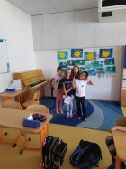První školní týden